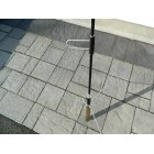 UHF High Gain Repeater Black Anodized Base Antenna